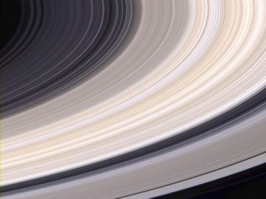 The Rings of Saturn in Natural Color / Credit: NASA Cassini image