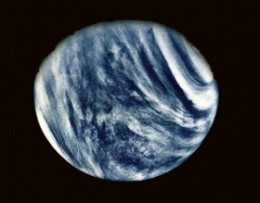 Marinar 10 image of Venus in false color