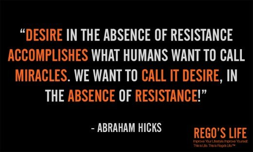 Desire in the absence of... - Abraham Hicks