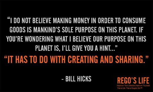 I do not believe... - Bill Hicks