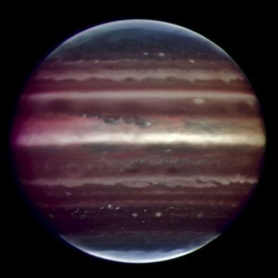 Jupiter in infrared / ESO's Very Large Telescope