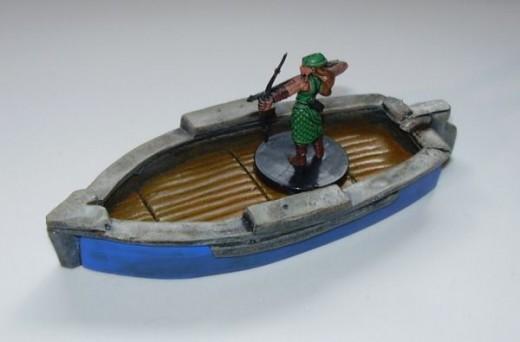 Fishmongers Boat (painted)