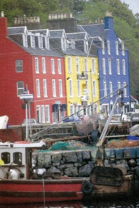 Quayside houses, Tobermory