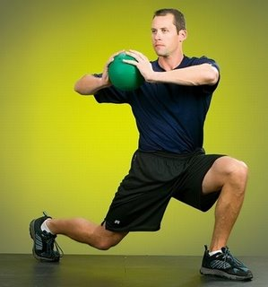 Work out with a Medicine Ball