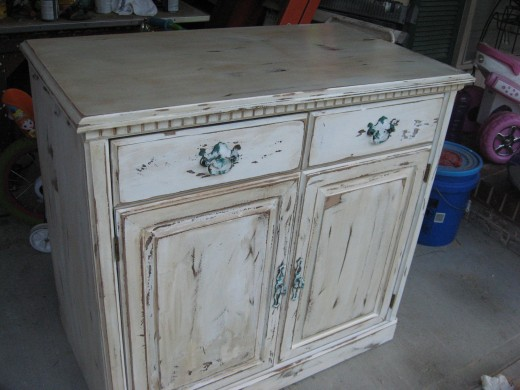 Distressed Cabinet