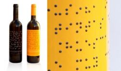 Wine Bottle Labels - Braille