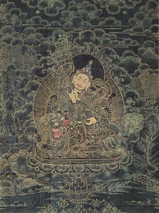 Kubera, the Deity of Wealth. Eastern Tibet. 18th century
