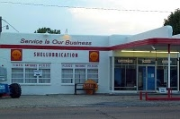 Butterfly Yoga in Jackson, MS was turned into an old fashioned Shell station