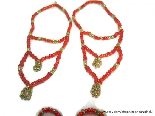 Deity necklace set