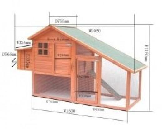 Large Chicken Housing Accommodation