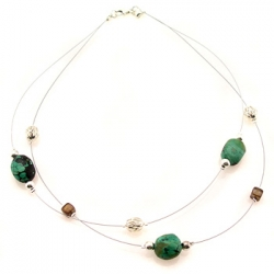 11th anniversary turquoise necklace