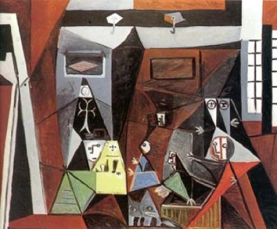Picasso las meninas