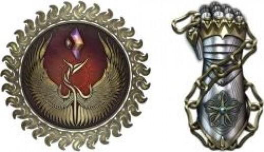 Rift faction logos