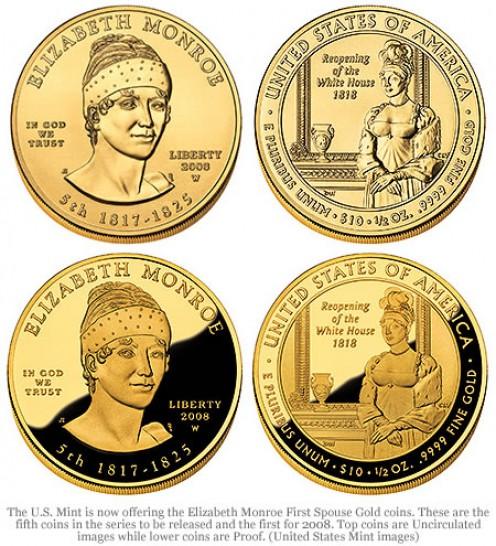 Royal gold coins.