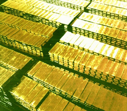 Lots and lots of gold biscuits-but not for all!