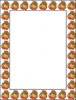 half fold menu template