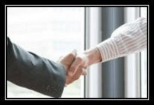 Sales Interview Acceptance Handshake