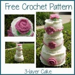Online Free Crochet Cake Pattern