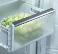 Drawers - always choose freezer drawers over shelves. That way you can pull it out to reach things at the back - rather than having to dig through.