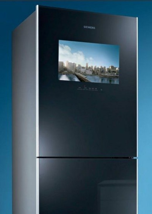 Siemens CoolMedia - because nothing makes a statement like a built-in TV.