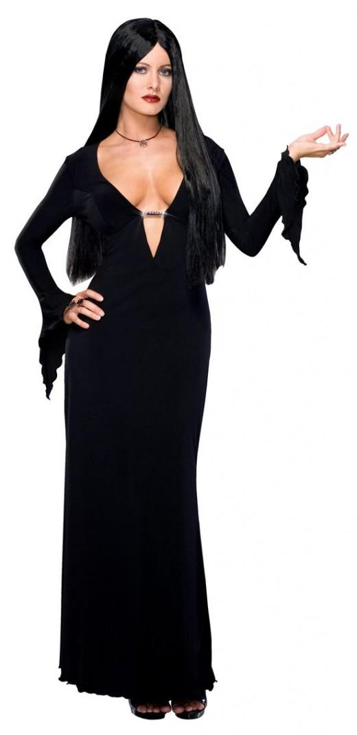 Sexy Morticia Addams