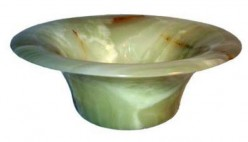 ...ok, so this one is kind of ugly. But it just goes to show you the variety of unique marble vessel sinks available!