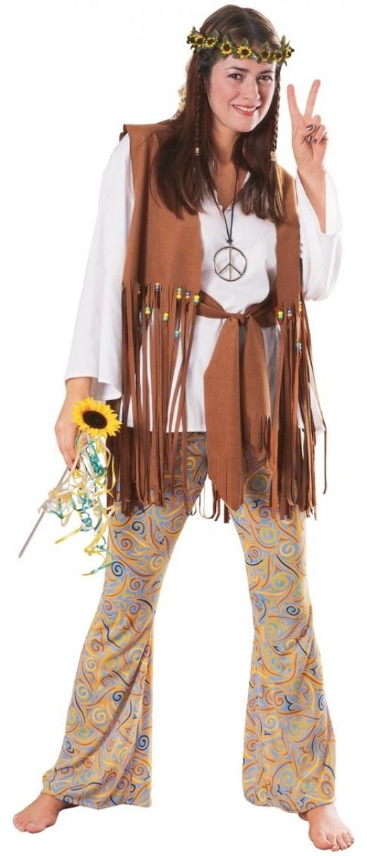 Hippy Lady Costume