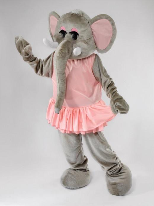 Nellie the Elephant Costume
