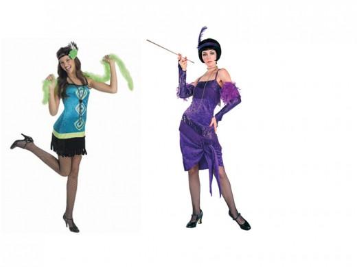 1920s Ladies Costumes