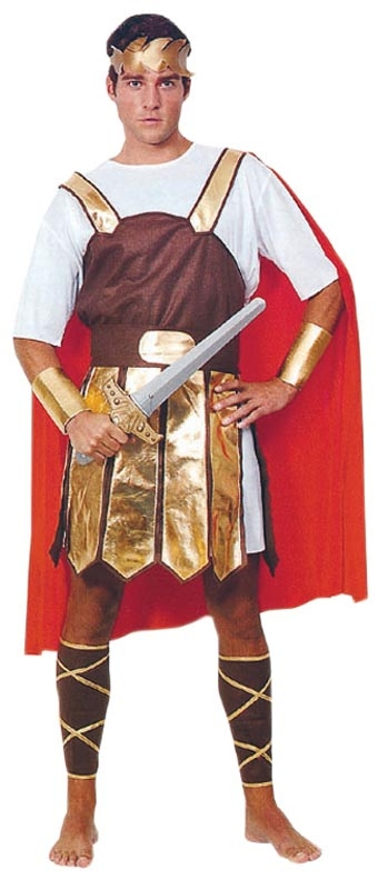 Zeus - Using a Roman Soldier Costume