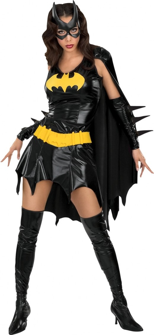 Ladies Batgirl Costume