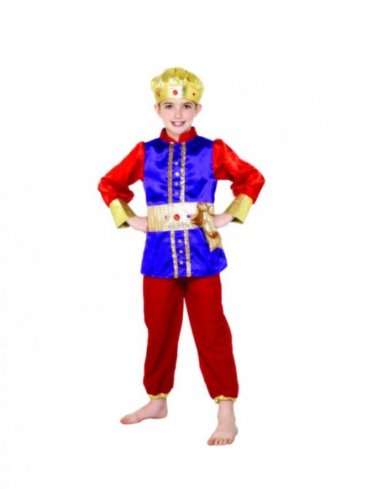 Kids King Costume - Available in 3 sizes