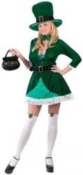 Sexy Irish Leprechaun Costume