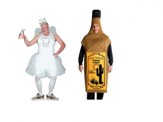 Tooth Fairy & Tequlia Bottle Costumes