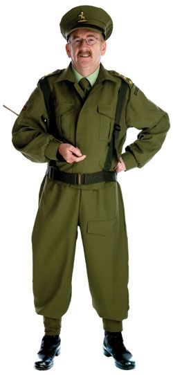 Dad's Army Style Costume