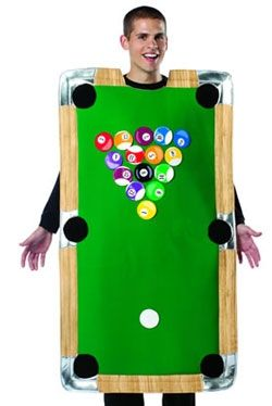 Pool Table Novelty Costume - Pub Game