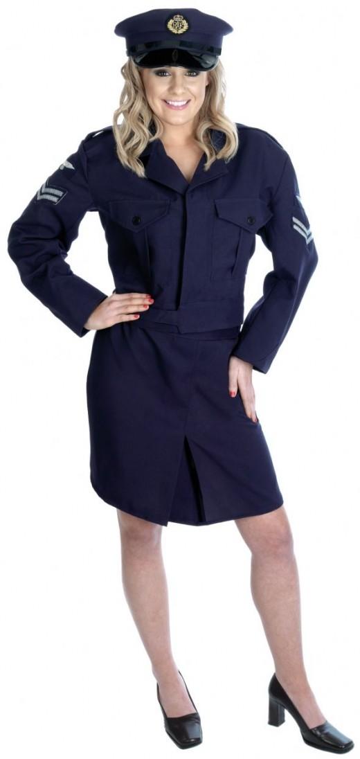 Ladies 1940s RAF Uniform