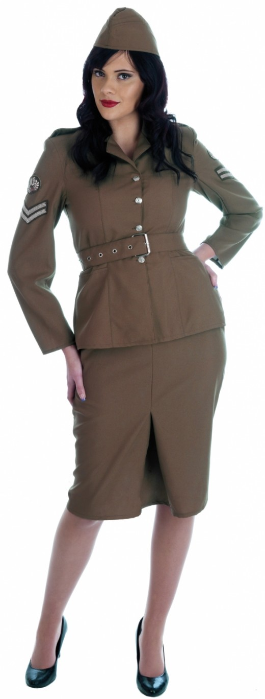Ladies UK Army Uniform
