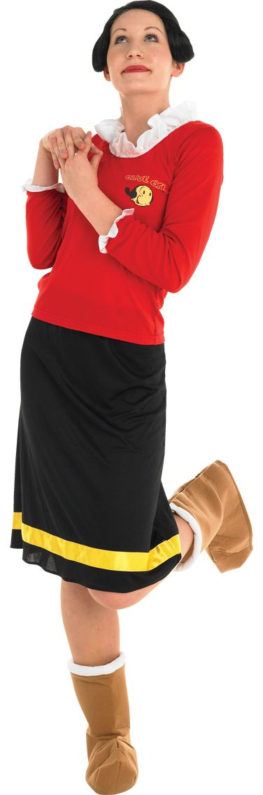 Costume ideas starting with the letter o hubpages olive oyl costume solutioingenieria Image collections