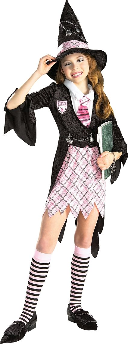 Charm School Witch Outfit