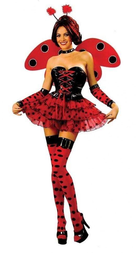 Ladies Sexy Ladybird Costume