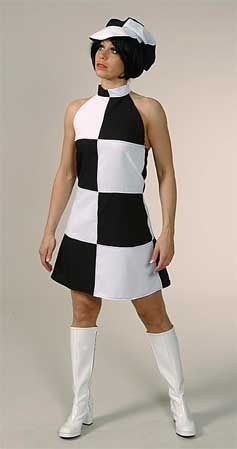 Mary Quant Style Costume
