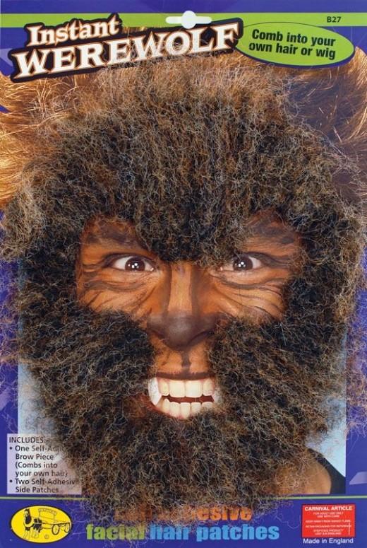 Werewolf Facial Hair