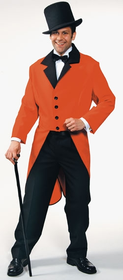 Use a red tailcoat for The Huntsman - Pub Name