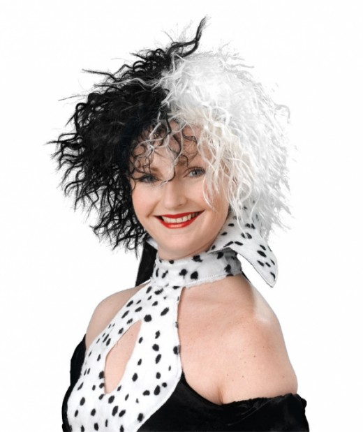 Cruella Style Wig