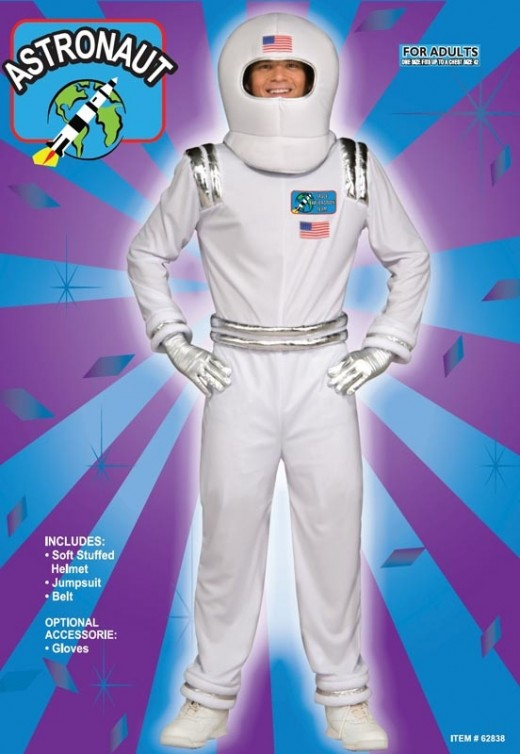 Costume ideas for the letter s hubpages spaceman costume solutioingenieria Image collections