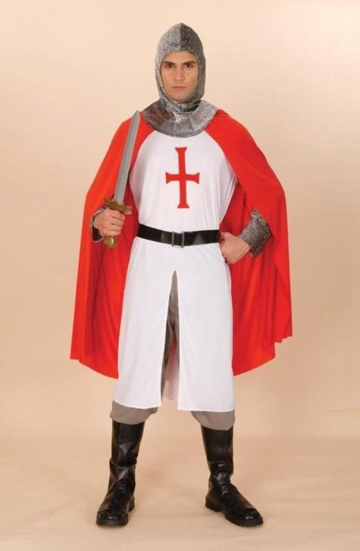 St. George Knight costume