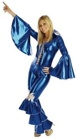 Ladies Abba Costume