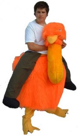 Runaround Emu - one of our hire costumes