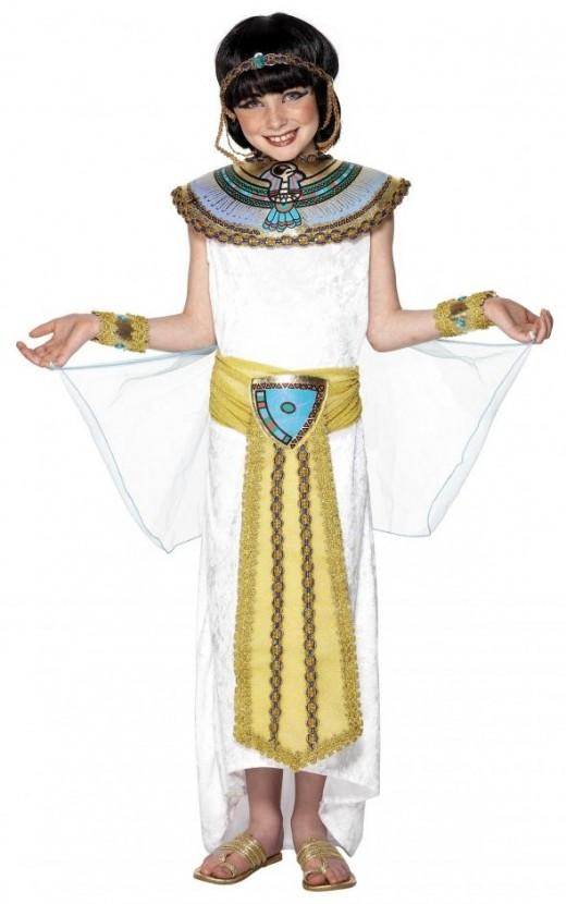Girls Egyptian Costume
